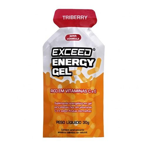 Exceed Energy Gel Triberry 30g