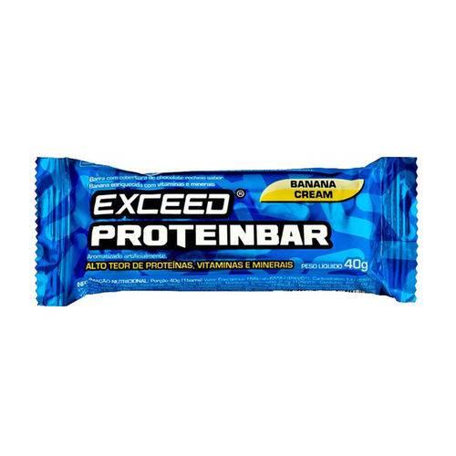 Exceed Proteinbar – 1 Unidade Banana Cream