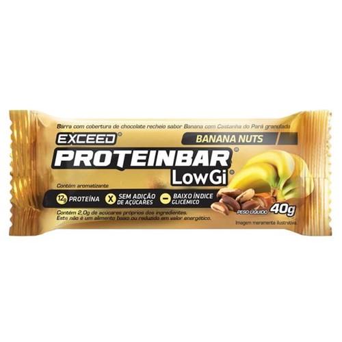 Exceed ProteinBar Low Gi Banana Nuts 1 Unidade