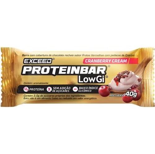 Exceed ProteinBar Low Gi Cranberry Cream– 1 Unidade