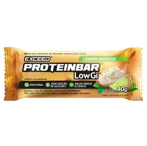 Exceed ProteinBar Low Gi Lemon Mousse – 1 Unidade