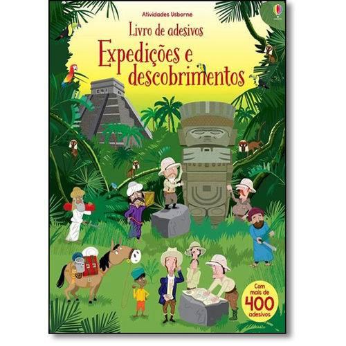 Expedições e Descobrimentos - Livro de Adesivos