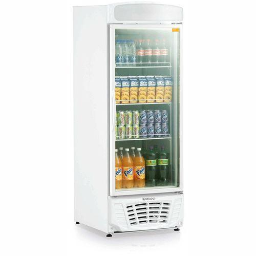 Expositor de Bebidas Esmeralda GLDR570 Gelopar Refrigerador 570Litros Branco 110v