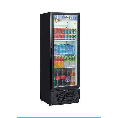 Expositor de Bebidas Vertical Gelopar 414 Litros com Fechamento Automático - Gptu 40