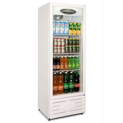 Expositor Refrigerado Vertical Branco Erv-400 Conservex