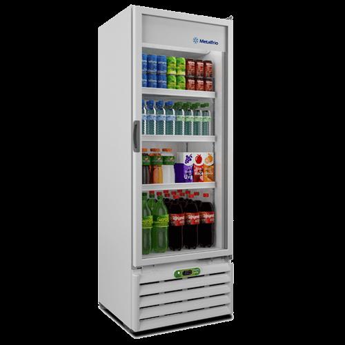 Expositor Refrigerado Vertical Metalfrio Frost Free Porta de Vidro VB40R