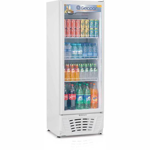 Expositor Vertical GPTU40 Gelopar Refrigerador 441Litros Branco 110v