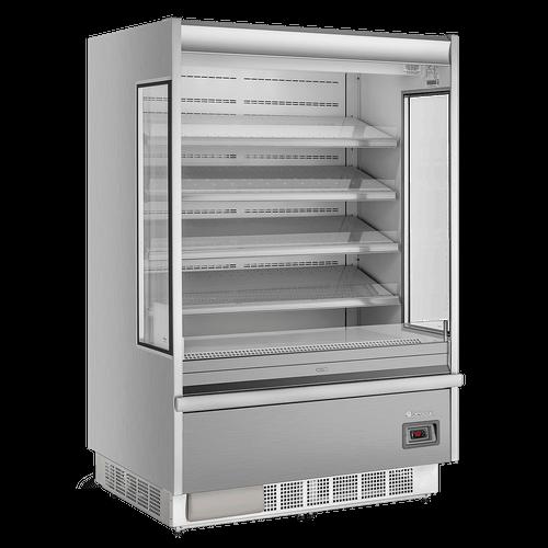 Expositor Vertical Refrigerado Gelopar, Aberto, Frost Free, Inox - GSTO-1300TI - 220V