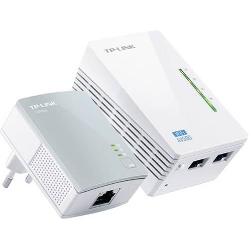 Extensor de Alcance Tp-Link Powerline TL-WPA4220 Kit Wifi 300mbps/Av 500mbps 300mts