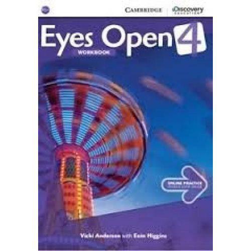 Eyes Open 4 - Workbook With Online Practice - Cambridge University Press - Elt