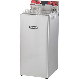 FA28 Fritadeira Elétrica 8000W Água e Óleo Croydon
