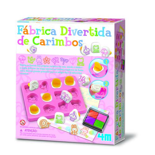 Fábrica Divertida de Carimbos - 4m - Brinquedo Educativo