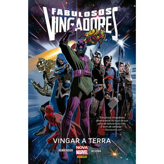 Fabulosos Vingadores - Vingar a Terra - Panini