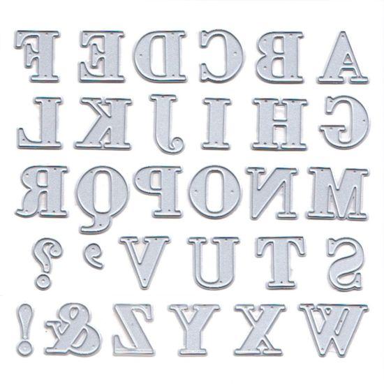 Faca de Corte Elegance Toke e Crie FPC011 1,5x1,5 Alfabeto