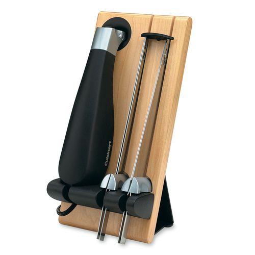 Faca Elétrica em Aço Inox com Suporte Cuisinart 127v Cek 40br