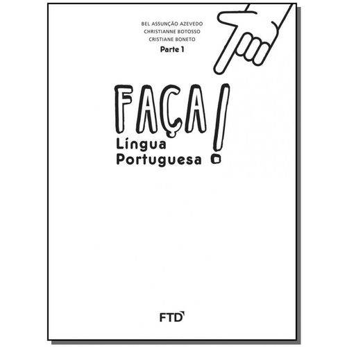 Faça! Língua Portuguesa - 2º Ano Parte 1 - 01ed/16
