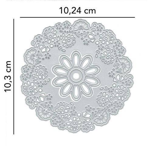 Faca P/ Corte e Relevo Grandes Flores Sortidas Toke e Crie - 20905 - FPC001