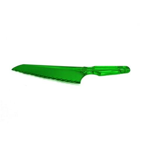Faca Plástica 30X6 Cm Verde Basic Kitchen