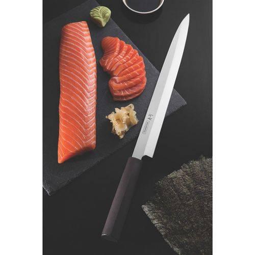 """Faca Yanagiba 13"""" Sushi Tramontina - 24230043"""