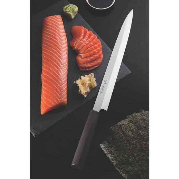 """Faca Yanagiba Inox 13"""" Sushi Mar Concept"""