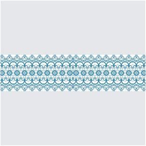 Faixa Adesiva de Parede para Cozinha Azul Céu FD11026