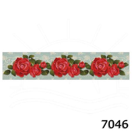 Faixa Digital Marilda - 7046 Rosas Vermelhas