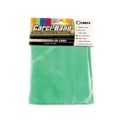 Faixa Elastica Carci Band Verde Medio 1,50m