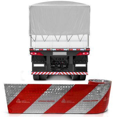 Faixa Refletiva para Parachoque de Caminhão - Avery Dennison - 2,40m de Comprimento