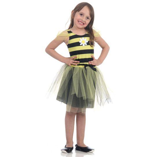 Fantasia Abelha Infantil - Dress Up P