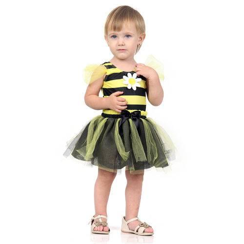 Fantasia Abelinha Bebê - Dress Up P