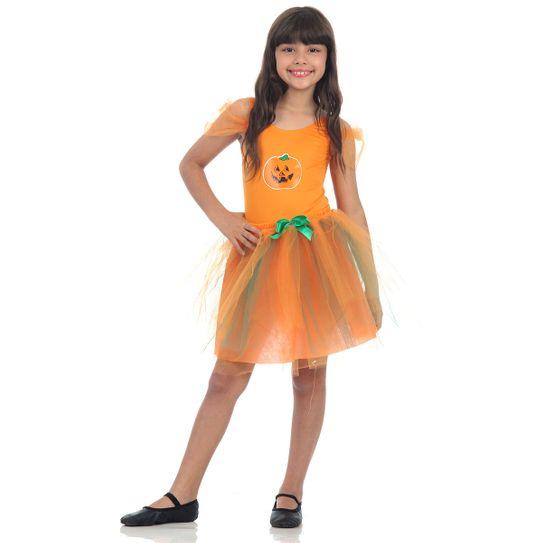 Fantasia Abóbora Infantil - Dress Up P