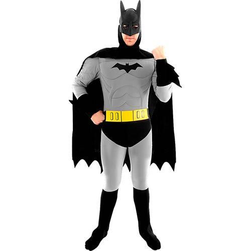 Fantasia Adulto Batman Luxo - Sulamericana Fantasias