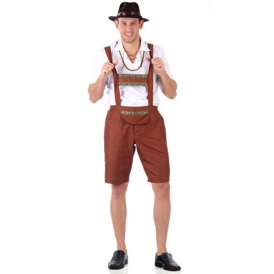 Fantasia Alemão Masculino Adulto P