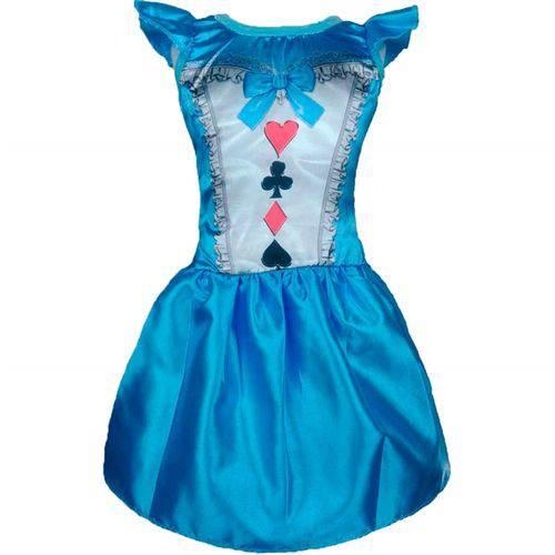 Fantasia Alice no País das Maravilhas Infantil