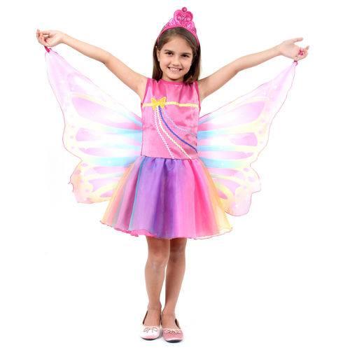 Fantasia Barbie Dreamtopia Fada Infantil