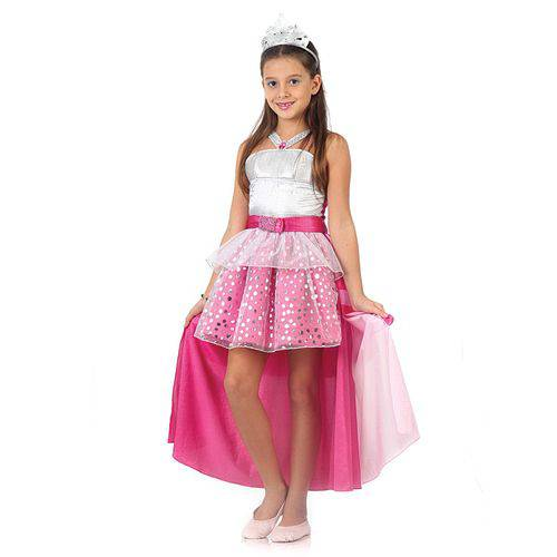 Fantasia Barbie Rock In Royals Luxo M - Sulamericana