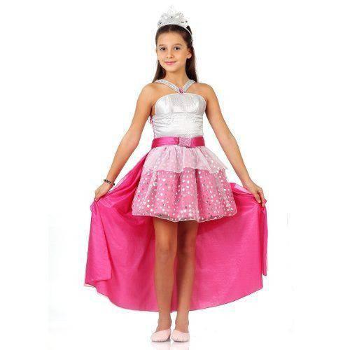 Fantasia Barbie Rock In Royals Luxo Sulamericana