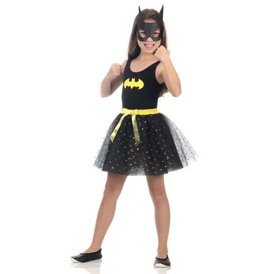 Fantasia Batgirl Infantil - Dress Up P