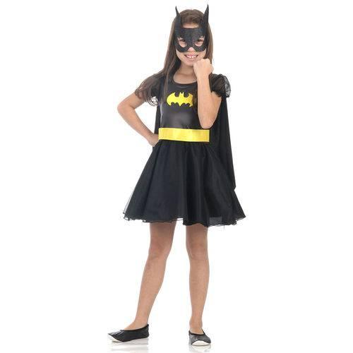 Fantasia Batgirl Infantil Princesa - M