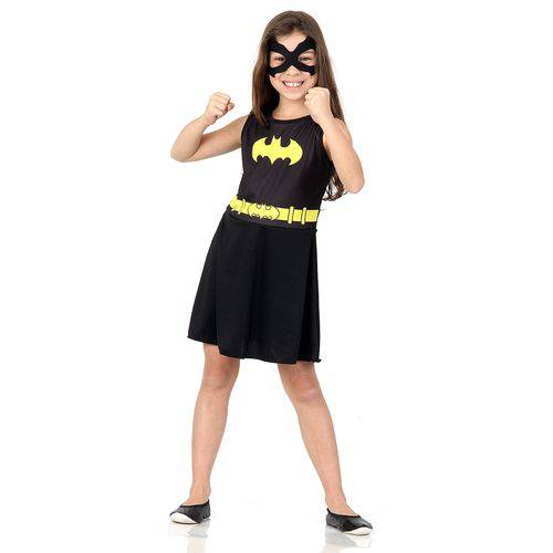 Fantasia Batgirl Infantil Super Pop | Sulamericana