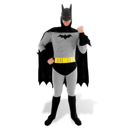 Fantasia Batman Adulto Luxo P