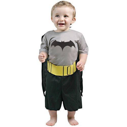 Fantasia Batman Baby Tamanho M Sulamericana 10174