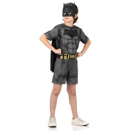 Fantasia Batman Curto Batman X Super