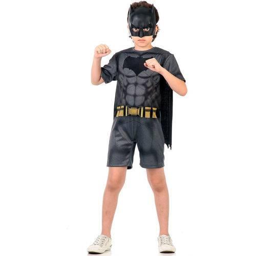 Fantasia Batman Infantil Curta Original Dc Comics Sulamericana 10892