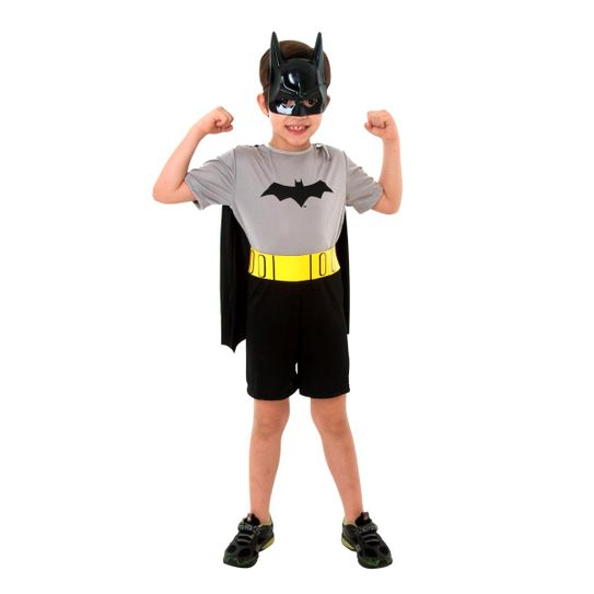 Fantasia Batman Infantil Curta P