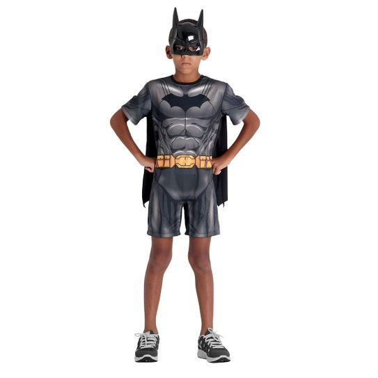 Fantasia Batman Infantil Curto - DC P