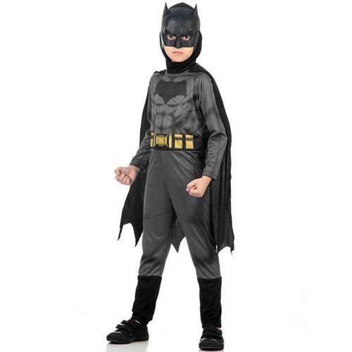 Fantasia Batman Std - Batman X Super Homem