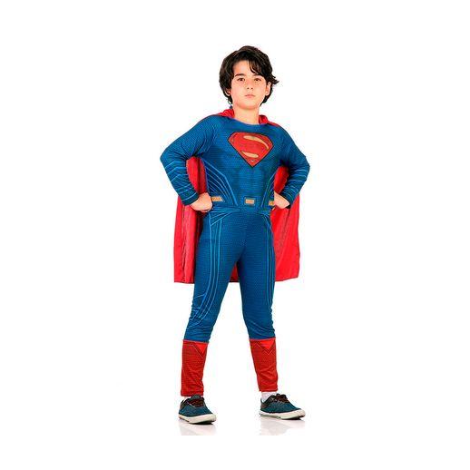 Fantasia Batman Vs Superman Standard Superman G - Sulamericana