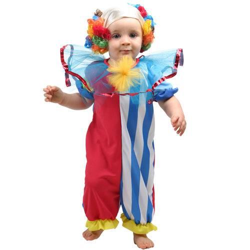 Fantasia Bebê - Palhacinho - Sulamericana