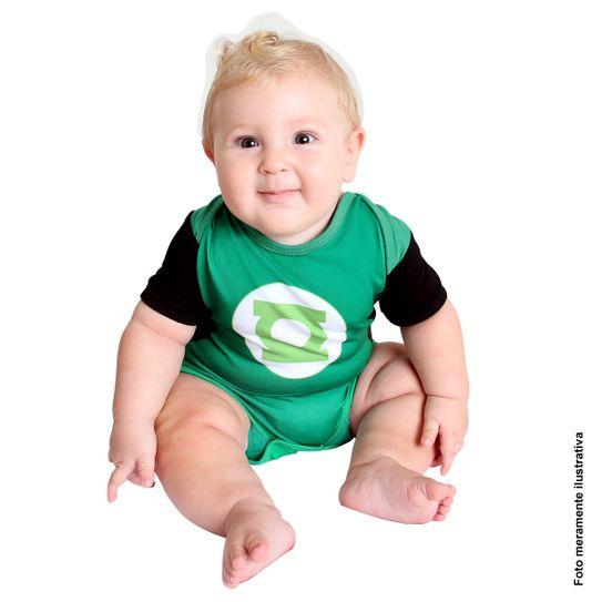 Fantasia Body Lanterna Verde Bebê Verão P